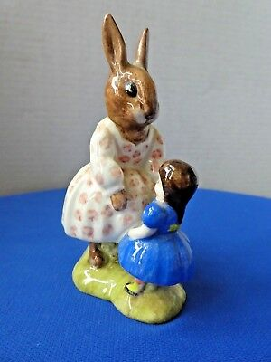 "Vtg Dollie Bunnykins ""Playtime"" Royal Doulton 1972"