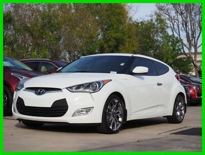 2015 Hyundai Veloster RE:FLEX 2015 Hyundai Veloster RE:FLEX 1.6L I4 16V Front Wheel Drive Premium White