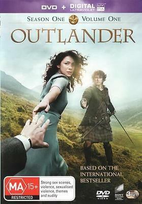 Outlander: Season 1 - Volume 1 (DVD/UV)  - DVD - NEW Region 4, 2