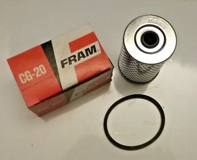 Tomco 496 Fuel Filter Replaces Fram CG3389 /& AC Delco GF-471 Made in USA