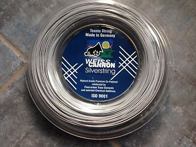 Weiss-Cannon Silverstring 1.25 neue Rolle 200 m