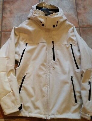 Volkl Mens  Ski Jacket - L/XL White/Ivory