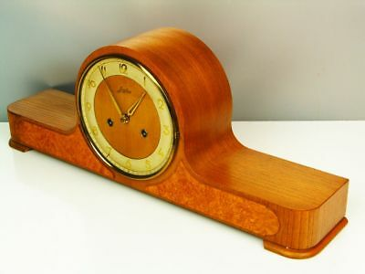 Art Deco  Chiming Mantel Clock From Junghans Germany