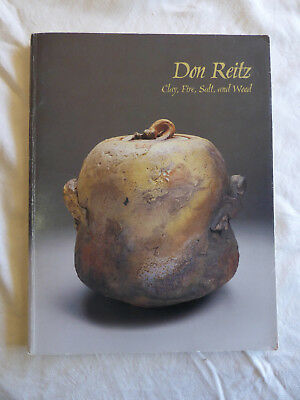 Don Reitz: Clay, Fire, Salt, and Wood Catalog Art Exhibition Elvehjem Museum