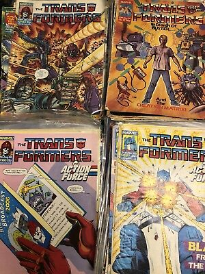 Transformers Comics Marvel UK 66 Issues 1984-1988