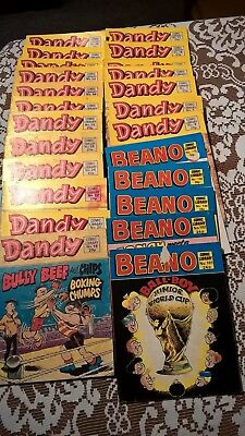Beano and Dandy Comic Library 23 in Total. Very good condition.