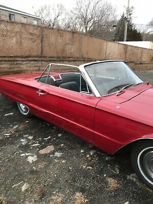 1966 Ford Thunderbird  Ford thunderbird.  1966