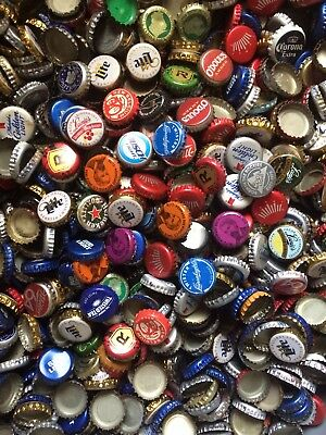 400 Dent Free Beer Bottle Caps Mixed Crown Man Craft Diy Mosaic Sign Lot