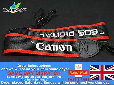 DSLR Camera Neck Strap For Canon EOS 5D / 5D4 / 7D / 60D / 760D / 650D / 1300D