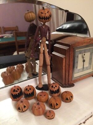 Nightmare Before Christmas Series 4 NECA 2006 Jack Pumpkin King Figure