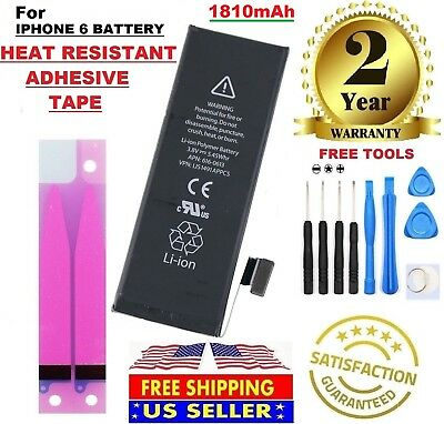 Battery For iPhone 6 (1810mAh) with high quality cells Internal Replacement.