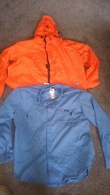 FR jacket Tyndale 3xl, Workrite FR vented shirt 2xl. All new with tags