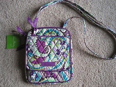 NWT Vera Bradley Disney Parks Mickey Mini Hipster bag in Plums Up Purple Green