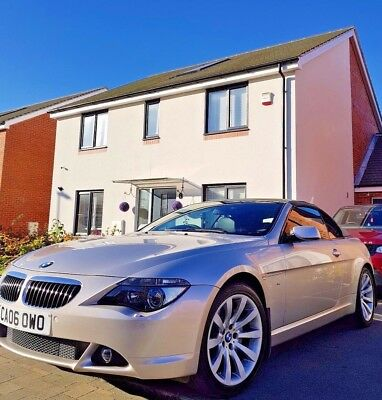 2006 BMW 650i Convertible FSH 36K GENUINE MILES IMMACULATE PX HPI clear