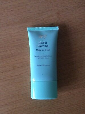 BOOTS No 7  Colour Calming  Primer Corrects RED complexions 40ml discontinued