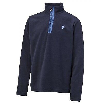 Polaire Protest Perfecty Jr 1/4 Zip Ground Blue