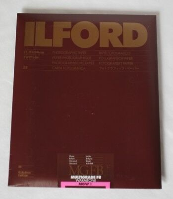 --- ILFORD 17,8x24cm Photographisches Papier MGFB ---