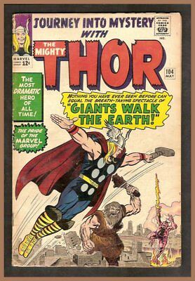 Marvel Journey into Mystery Issue #104 Repaired at Spine 1st Tales of Asgard