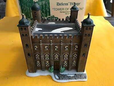 Dept. 56-Dickens' Village Series-Tower of London (2 of 5 pcs)
