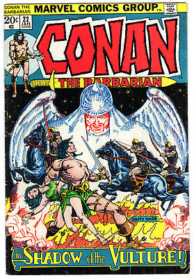 Conan the Barbarian #22, Marvel, Roy Thomas, Barry Smith (Windsor-Smith) reprint