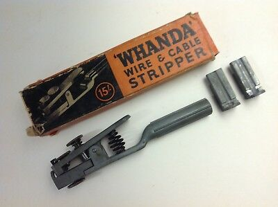 "Universal ""Whanda"" Wire & Cable Stripper 15' (1926 ) by Manco Ltd., Birmingham"