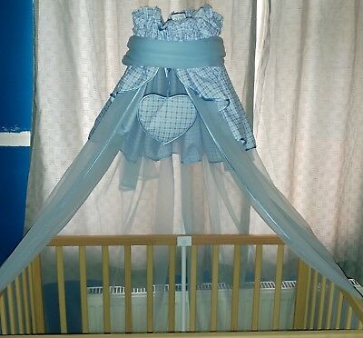 cot canopy and holder