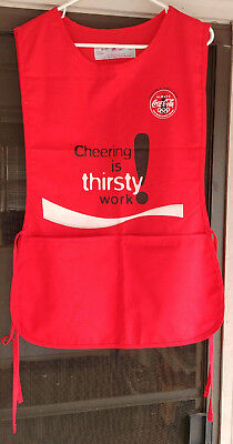 Coke Usher Apron with Pockets NEW