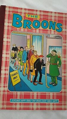 The Broons Cartoon Annual, Card Covers D C Thompson 1981 V. Good cond.