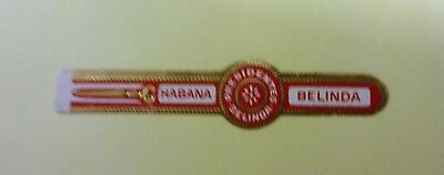 """For Sale: OLD COLLECTIBLE CIGAR BAND, """" BELINDA # 24"""", B171"""