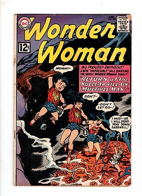 Wonder Woman 129 G 2.5 Early Silver Age Issue 1961