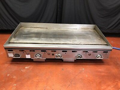 *GREAT* Vulcan 5 Ft / 60 Inch GAS Flat Top Griddle W/ Controlled Thermostats