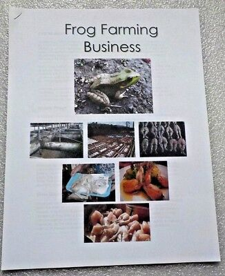 Frog Farming Business Leaflet