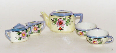 Child's Luster Ware Tea Set Incomplete Made in Japan