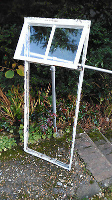 Crittall - Metal Window with Fan Light - Architectural Salvage - 1930s - Vintage