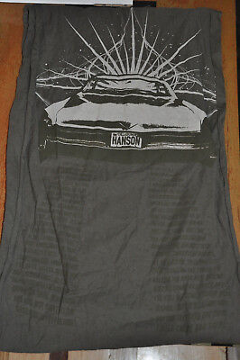 RARE NEW Hanson Carry You There army green Scarf!
