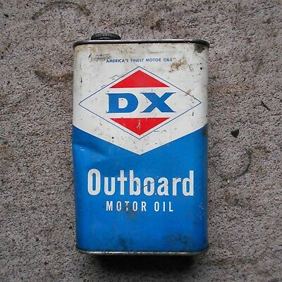 DX outboard oil can 1 quart MADE IN THE USA