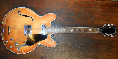 Austrovox by Crucianelli Vox Archtop semi-acoustic vintage guitar 1965 Italy