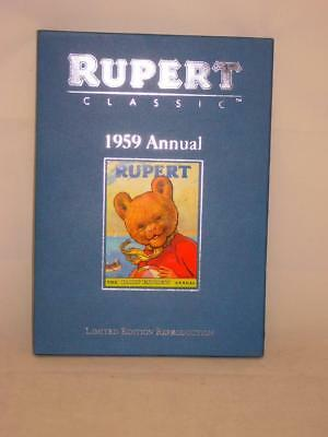 *Rupert Classic Hardback 1959 Annual Limited Edition Reproduction (0258-DM)