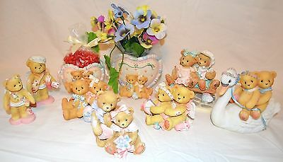 Cherished Teddies Love Collection of 9