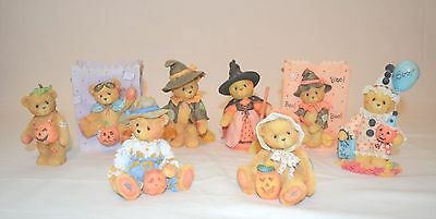 Cherished Teddies - Halloween Collection Set of 8 Trick or Treat