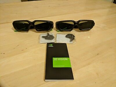 2x NVIDIA 3D (Active) vision glasses