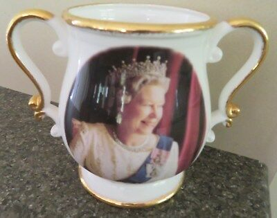 Fenton Loving Cup 50 years Reign of Queen Elizabeth 11