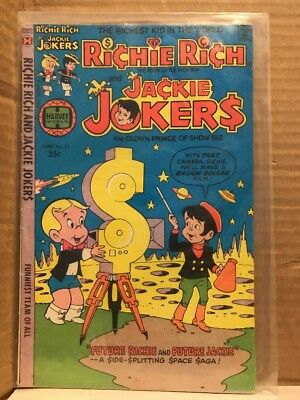 Richie Rich and Jackie Jokers #27 1978 Comic Book