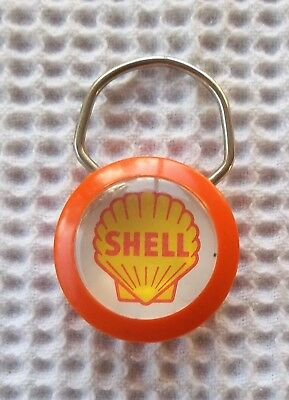 Vintage Shell Gas Station  Key Ring    Rasner's Shell Service - Connersville, In