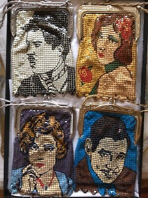 Set Of 4 Star Series Mesh purses Exellent Condition Whiting and Davis