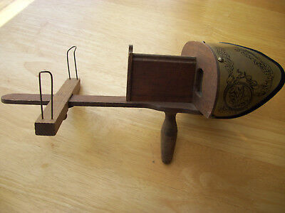 Vtg Holmes Stereoscope Viewer With 87 Pictures
