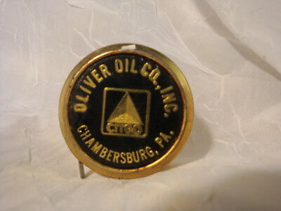 Vintage Oliver oil Co Inc Chambersburg PA Citgo oil gas advertising tape measure