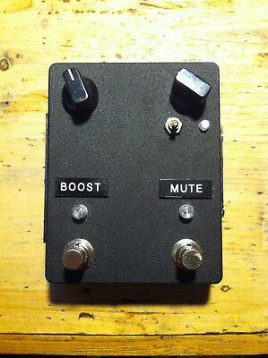 Dirk Baldringer Pedalboard Interface mit Buffer, Line Driver, Clean Treble Boost