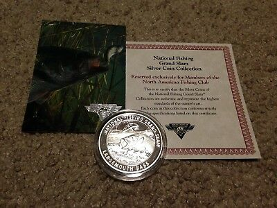 North American Fishing Club National Fishing Grand Slam Largemouth Bass Coin