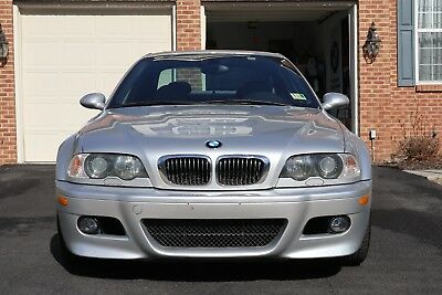 2003 BMW M3 Base Coupe 2-Door 2003 BMW M3 6 SPEED MANUAL!!! RECENTLY SERVICED, LOW MILES